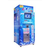 China Restaurant Commercial Ice Vending Machine Charged By Coin / Note CE Approval on sale