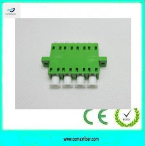 Wholesale LC/APC Quadplex fiber optic adapter from china suppliers