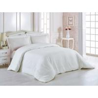 Wholesale 100% Cotton 60 * 40S 300TC Hotel Bedding Set White Color King Size Plain Style from china suppliers