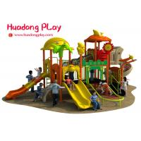 Wholesale Colorful Outdoor Plastic Playground Playhouse For 3-12 Years Old Children from china suppliers