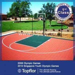 PP interlocking sports flooring basketball courts used floor