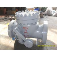 Wholesale SS304 Counter Weight Check Valve TRIM API 6D BS 1868 WC6 BODY 900 LB Pressure from china suppliers
