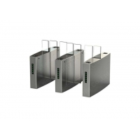 Wholesale Rfid Reader Waterpoof Speed Gates , Swing Barrier Gates 2.0mm Thick Frame from china suppliers