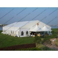 Wholesale 20 x 25m White Wedding Event Tents , Outdoor Luxury Tent Wedding Ceremony from china suppliers
