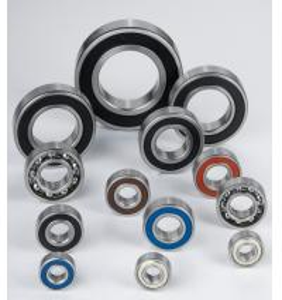 Chrome Steel Deep Groove Ball Bearing 6200 2RS, 6200 ZZ