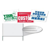 Wholesale Reusable Printing Yard Signs  from china suppliers