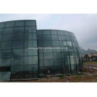 Buy cheap Bathroom Euro Grey Float Tempered Glass Sheets Fire Resistant Shockproof from wholesalers