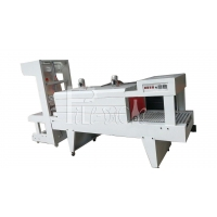 Wholesale Semi Automatic PE Film Wrapping Cutting Shrink Tunnel Packing Machine from china suppliers
