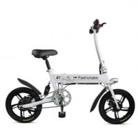 Wholesale Durable Folding Electric Bike 16 Inch Max Loading 120KG LCD Screen With USB Port from china suppliers