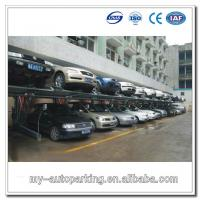 Wholesale Double Parking Car Lift Tilting Car Lift Car Parking Rack Vertical Storage System from china suppliers
