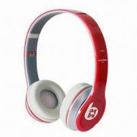 Buy cheap Fashionable Headphones with 20 to 20,000Hz Frequency Response and 50mW Power from wholesalers
