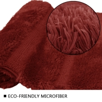Wholesale Super Soft Bathroom Rugs Tufted Microfiber Bath Rugs TPR Backed from china suppliers