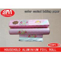 Wholesale Color Coated Household Aluminium Foil 20cm X 10 Micron X 3m Size FDA Certificated from china suppliers