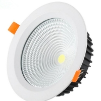 Wholesale CCT 3000K-4000K-6500K Down Light COB Version for Project Indoor Down Light from china suppliers