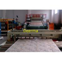 China 75kw 20t PVC Marble Sheet Machine , Artificial Marble Extrusion Machine on sale