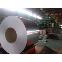 Chromate Passivation Aluzinc Steel Coils , Galvalume Steel Sheet In Coil JIS G3302