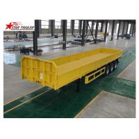 Wholesale 3/4 Axles Drop Deck Semi Trailer , Heavy Duty Semi Trailers For Truck from china suppliers