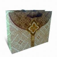 Wholesale Recycled Paper Shopping Bag with PP Handle, Made of Art and Ivory Board, Eco-friendly from china suppliers