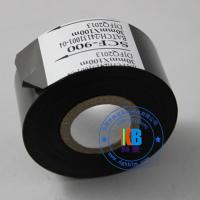 Wholesale Paper PVC PET plastic abs label date printing scf900  fc3  lc1black hot coding foil ribbon 25mm*100m from china suppliers