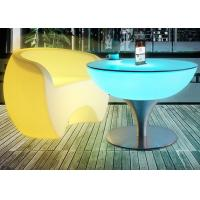 Buy cheap Portable Plastic LED Cocktail Table Outdoor LED Glowing Bar Led Illuminated Furniture from wholesalers