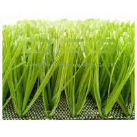 High Density Artificial Grass Football Easy Installation With Apple Green Color