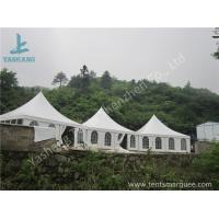 Wholesale Aluminum Frame 8x8 Gazebo Canopy Tents , Outdoor High Peak Tents For Restaurant from china suppliers