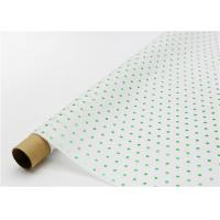 Wholesale Fade Resistant Hot Stamping Tissue Paper 17gsm Green Dot For Bouquet from china suppliers