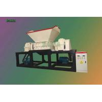 Wholesale Heavy Duty Metal Recycling Shredder , Double Shaft Shredder Waste Plastic Crusher from china suppliers