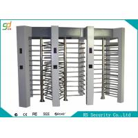 Wholesale 304 Stainless Steel Full Height Turnstiles Access Control System Turnstyle from china suppliers