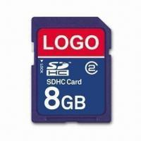 Wholesale SD Card with 8GB Capacity and 5Mbps Reading Speed, Measures 24 x 32 x 2.1mm from china suppliers