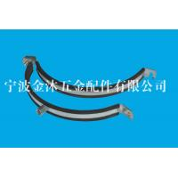 Wholesale Size 225 Mm Heavy Duty Pipe Clamps With Rubber Stainless Steel / Galvanized Iron Material from china suppliers