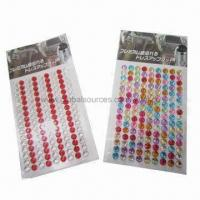 Wholesale Crystal stickers for car decoration, OEM designs are welcome from china suppliers