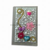 Wholesale Tattoo Sticker in Fashionable Design, Decorated with Crystal and Rhinestones, Made of Acrylic from china suppliers