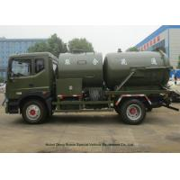 Wholesale Heavy Duty Septic Vacuum Trucks For Oilfield / Fecal / Sewer Cleaning from china suppliers
