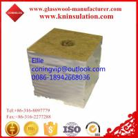 Wholesale Hydrophobic gardon rock wool cubes from china suppliers