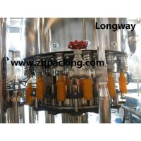Wholesale Orange ,pineapple/mango/pulp juice filling machine from china suppliers