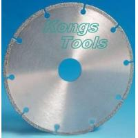 Wholesale Electroplated diamond saw bale / cutting disc from china suppliers