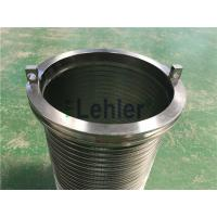 Quality WWE-178 Wedge Wire Filter Elements Long Slit High Flow Rate ISO Certification for sale
