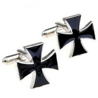 Wholesale Simple design smooth stainless steel blank cufflinks men from china suppliers