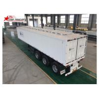 Wholesale High - Tensile Steel Flatbed Container Trailer With Water Proof Design from china suppliers