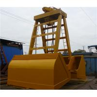 Wholesale 28T 15m³  Wireless Remote Control Grab / Single Rope Grapple for Bulk Cargo Loading from china suppliers