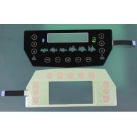 Wholesale translucent black glass or PET Capacitive Membrane Switches, capacitive touch membrane keypad from china suppliers