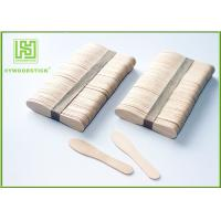 China 100% Natural Ice Cream Wooden Sticks Scoop Different Shapes For Honey wholesale