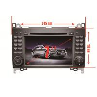 Wholesale Mercedez Benz A B Class Android Car Gps Navigation , 7 inch 1080P Multi Media DVD Player from china suppliers