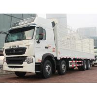 Wholesale 50 Tons SINOTRUK HOWO A7 8x4 Box Stake Truck 336/371 Horsepower from china suppliers