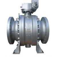 Wholesale 20 Inch 3PC Trunnion Type Ball Valve Fire Safe Design ANSI300LB API6D A216WCB from china suppliers