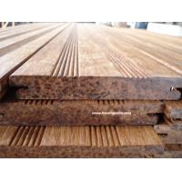 Sustainable eco friendly bamboo decking with stained color for Sustainable decking