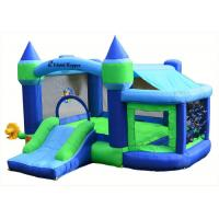 Wholesale Backyard Inflatable Bouncer Combo / 0.55mm PVC Bouncy Castle For Kids from china suppliers