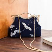 Wholesale Coin Pouch Canvas Card Purse Clasp Closure Classic birds Pattern Keys Wallet Gift Round from china suppliers