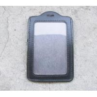 China ID Card PVC Badge Holder , Business Card Badge Holder For Officer / Trade Show on sale